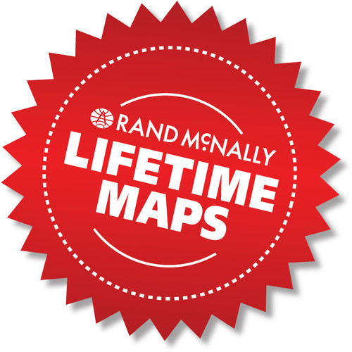 Lifetime Maps for Rand McNally TND™ 510, 710 & 515, RVND™ 5510, 7710 & 7715