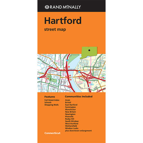 Folded Map: Hartford Street Map