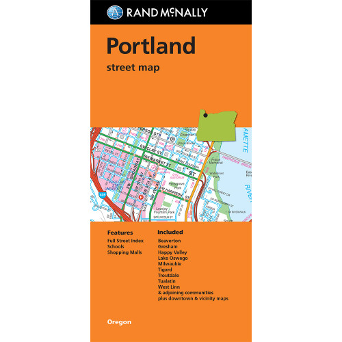 Folded Map: Portland Street Map