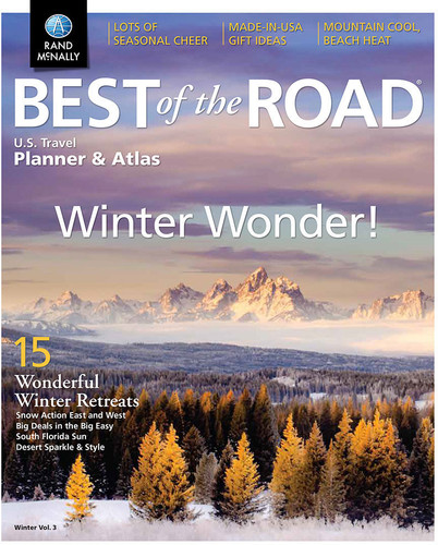 Best of the Road  U.S. Travel Planner & Atlas Winter Edition