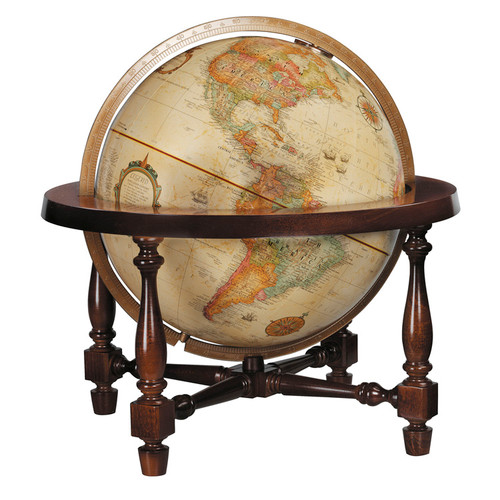 """Colonial 12"""" Desk Globe"""