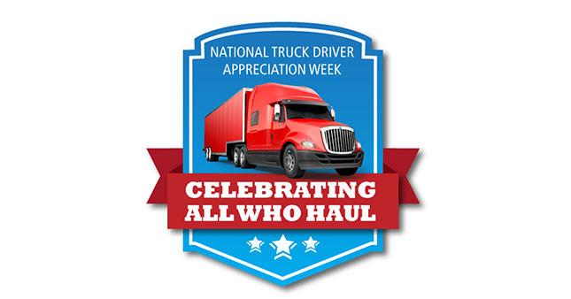 National Truck Driver Appreciation Week