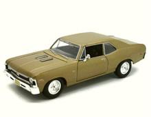 1970 Chevrolet Nova SS MAISTO SPECIAL EDITION Diecast 1:24 Scale Gold