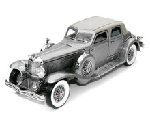 FRANKLIN MINT 1933 Duesenberg Twenty Grand Diecast 1:24 Scale Silver