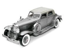 FRANKLIN MINT 1933 Duesenberg Twenty Grand Diecast 1:24 Scale Silver