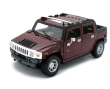 HUMMER H2 SUT Concept MAISTO SPECIAL EDITION Diecast 1:27 Scale Metallic Red