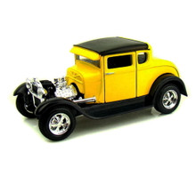 1929 Ford Model A 5 Window Coupe MAISTO SPECIAL EDITION Diecast 1:24 Scale Yellow