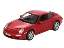 Porsche 911 Carrera S MAISTO SPECIAL EDITION Diecast 1:18 Scale Red