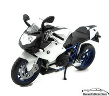 BMW HP2 Sport Motorcycle MAISTO Diecast 1:12 Scale Black/White FREE SHIPPING