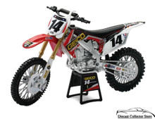 Honda CRF 450R GEICO Powersports - Kevin Windham Diecast 1:12 FREE SHIPPING