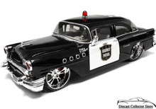 1955 Buick Century Hwy Patrol ALL STARS Diecast 1:26 Scale Black/Silver MIB