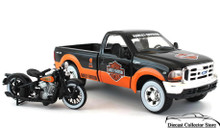 1999 Ford F-350 1:27 Scale & 1936 Harley Davidson EL Knucklehead 1:24 Scale