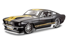 1967 Ford Mustang GT MAISTO MUSCLE Diecast 1:24 Scale Black