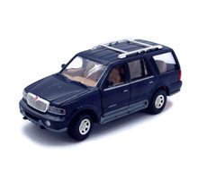1998 Lincoln Navigator MOTORMAX Diecast 1:24 Scale Blue