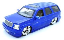 2002 Cadillac Escalade DUB City Diecast 1:24 Scale - Candy Blue