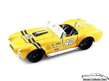 1965 Shelby Cobra 427 Maisto CUSTOM SHOP Diecast 1:24 Scale - Yellow