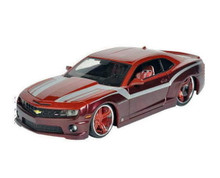 2010 Chevrolet Camaro SS RS Maisto CUSTOM SHOP Diecast 1:24 Scale Red/Wine