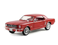 1964 1/2 Ford Mustang Coupe ARKO VINTAGE VEHICLE Diecast 1:32 Scale Red FREE SHIPPING