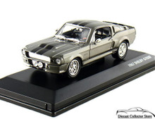 1967 Shelby GT500 Mustang SIGNATURE SERIES Diecast 1:43 Scale Silver