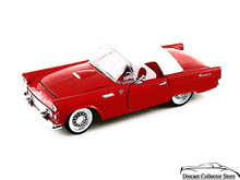 1955 Ford Thunderbird Hdtp ARKO VINTAGE VEHICLE Diecast 1:32 Red FREE SHIPPING