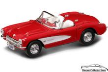 1957 Chevrolet Corvette ROAD SIGNATURE Diecast 1:43 Scale Red