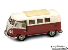 1962 Volkswagon Microbus ROAD SIGNATURE Diecast 1:18 Scale Brown