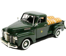 1950 Chevrolet Pickup Truck w/Barrels SIGNATURE MODELS Diecast 1:32 Scale FREE SHIPPING