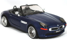 1996 BMW Z8 SUPERIOR / SUNNYSIDE LTD Diecast 1:24 Scale Navy Blue