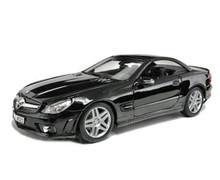 Mercedes - Benz SL65 AMG MAISTO SPECIAL EDITION Diecast 1:18 Scale Black