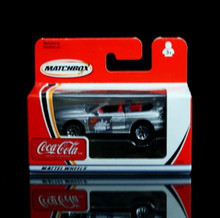 Ford Mustang Cobra Matchbox  COCA COLA Series Diecast 1:64 Scale  Coke