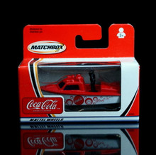 Police Launcher Matchbox  COCA COLA Series Diecast 1:64 Scale  Coke