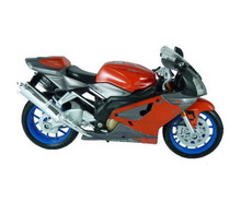 Aprilia RSV R1000 Maisto Diecast 1:18 Scale Motorcycle Red & Grey