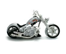 IRON CHOPPER Motorcycle MOTORMAX Diecast 1:18 Scale #133 FREE SHIPPING