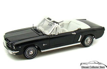 1964 1/2 Ford Mustang MOTORMAX AMERICAN CLASSICS Diecast 1:18 Scale Black