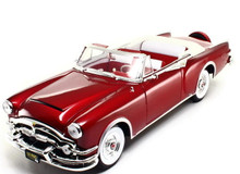 1953 Packard Caribbean Convertible ROAD SIGNATURE Diecast 1:18 Scale Red