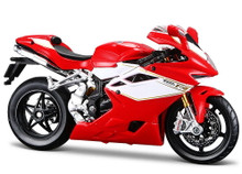 MV Agusta F4 RR Motorcycle MAISTO Diecast 1:12 Scale Red/White FREE SHIPPING