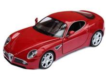 Alfa Romeo 8C Competizione MAISTO BBURAGO EDITION Diecast 1:18 Scale Red