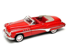 1949 Buick Roadmaster MOTORMAX AMERICAN CLASSICS  Diecast 1:18 Scale Red