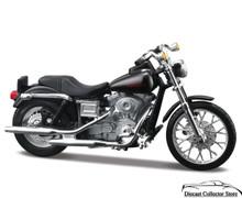 HARLEY DAVIDSON 2002 FXDL Dyna Low Rider Maisto Diecast 1:24 FREE SHIPPING