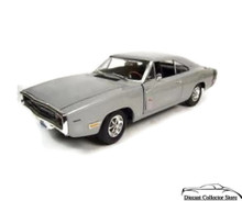 1969 Dodge Charger R/T Ertl AMERICAN MUSCLE Diecast 1:18 Scale Silver