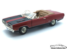 1969 Plymouth GTX Convertilble Ertl AMERICAN MUSCLE Diecast 1:18 Scale Red