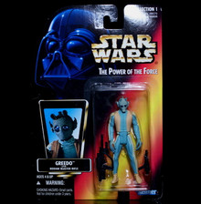 STAR WARS Action Figure GREEDO - POTF 1996 Collection 1