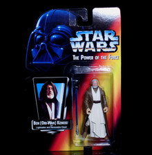 STAR WARS Action Figure BEN OBI-WAN KENOBI - POTF 1995 Free Shipping