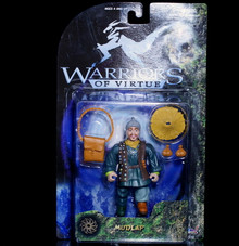 "WARRIORS OF VIRTUE Action Figure MUDLAP Playem 6"" Collection 71010"
