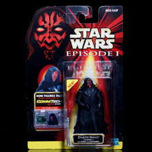 STAR WARS Action Figure DARTH MAUL Tatooine ComTech Chip Collection 1 Episode 1