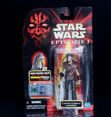 STAR WARS Action Figure CAPTAIN TARPALS Comm Tech Chip Episode 1 Collection 3