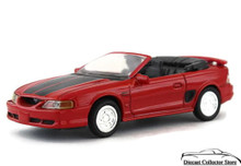 1994 Ford Mustang GT Convertible NEWRAY City Cruiser Diecast 1:43 Scale Red