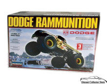 DODGE RAMMUNITION MONSTER TRUCK 1/24 Scale Lindberg Plastic Model Kit