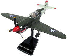 P-40 Warhawk WWII US Army Fighter Plane Plastic Model Assembly Kit NewRay