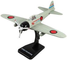 ZERO Fighter Japanese WWII Fighter Plane Plastic Model Assembly Kit NewRay